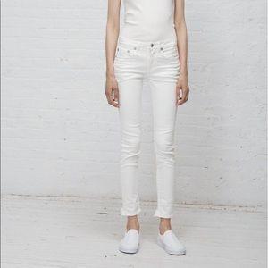 R13 Alison Skinny Jean Garret White Jean